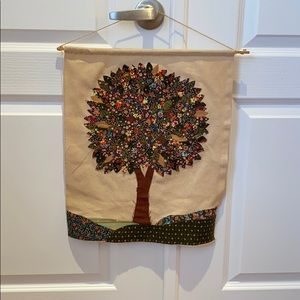 HandCrafted maple tree canvas handmade artwork
